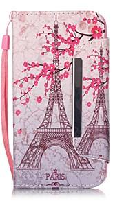 sakura modello tower pu leahter copertura completa del corpo con supporto e slot per schede per Samsung Galaxy S4 S5 S6 s6edge s7 s7edge
