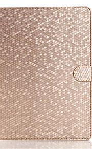 mode diamantläderfodral för Apple iPad luft två flip stå smarta tablett skyddande fallet täcker för ipad luft skal