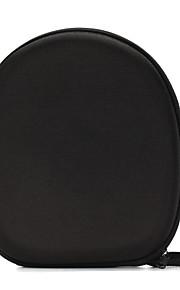 noir classique transportant étui rigide boîte de sac de rangement pour sony casque serre-tête écouteur