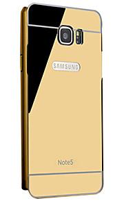 mobiltelefon shell beskyttende hylster metalramme Samsung Galaxy note5