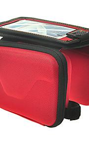 Acacia Bike Handlebar Bag Cycling/Bike / Waterproof Zipper / Wearable / Shock Resistance / Touch ScreenRed