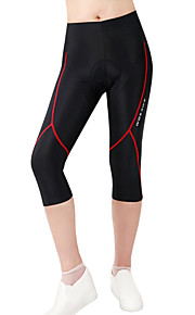 WOSAWE New Womens Ladies Cycling Pant Outdoor Sports 3D Padded Bike Clothing Bicycle Pants Tights