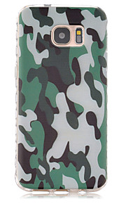 Camouflage Pattern Slip TPU Phone Case For Samsung Galaxy S7/S7 edge