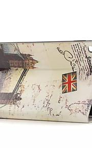 platser av historiskt intresse läderfodral med korthållare för Apple iPad luft, smart täcka läderfodral