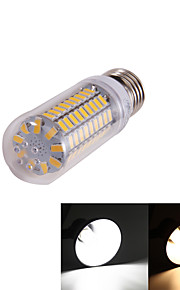 5W E26/E27 LED-kornpærer T 99 SMD 5730 350 lm Varm hvit / Kjølig hvit Dekorativ AC 220-240 / AC 110-130 V 1 stk.