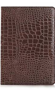 Fashion High Quality Slim Crocodile Leather Case For iPad Air Smart Cover With Stand Alligator Pattern Case