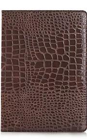mode hög kvalitet tunna krokodil läderfodral för ipad luft Smart Cover med stativ alligator mönstrar fallet