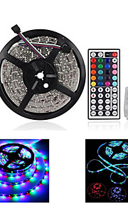 ZDM ™ 3528 RGB LED stripe lys lampe fargerik 44key ir fjernkontroll fest DIY salg-selger
