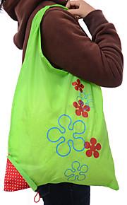 jordbær folde bærbar modtager mode håndtasker indkøbstasker af miljøbeskyttelse poser tilfældig farve