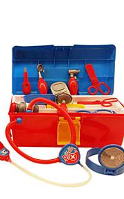 (Com luz&música) desempenham caixa médica fingir jogar brinquedos DIY brinquedos