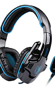 SADES SA-901 USB Wired 7.1 Surround Noise Cancelling PC Gaming Headset with Microphone Earphone