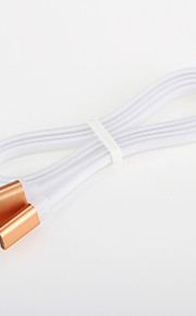 Aluminum Noodles USB 2.0  Charger Cable Cord for Samsung Android Smartphone General Cable (1.0 M)