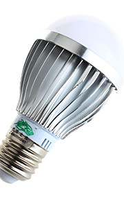 5W E26/E27 LED-globepærer A60(A19) 10 SMD 5730 480lumens lm Varm hvit / Naturlig hvit Dekorativ AC 85-265 V 1 stk.