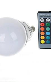 10W E14 LED-globepærer A70 1 Høyeffekts-LED 600-900 lm RGB Fjernstyrt AC 85-265 V 1 stk.