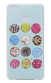 TPU transparante dunne donuts voor Huawei p9 / p9 lite