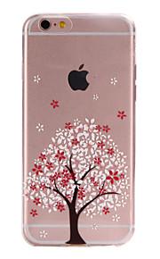 TPU árvores material pattern caso de telefone fino para 6s iphone plus / 6 plus / 6s / 6