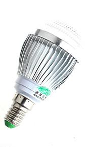 3W E14 LED-globepærer A60(A19) 6 COB 280lumens lm Varm hvit / Naturlig hvit Dekorativ AC 100-240 V 1 stk.