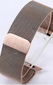 38 milímetros contendo vinculador relógio de pulso de aço inox magnético para relógio de maçã