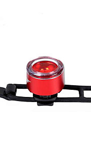 Rear Bike Light - Cycling Color-Changing Button Battery 2 Lumens Battery Cycling/Bike