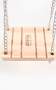 de bel swing, hamster hout ringen, 1 stuk