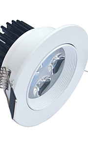 4W LED-downlights 320-400 lm Kjølig hvit Høyeffekts-LED Dekorativ AC 85-265 V 1 stk