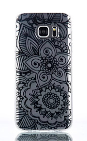 cassa del telefono materiale modello TPU due grandi fiore per Galaxy S4 / s4mini / S6 / S6 bordo / bordo S6 plus / S7 / bordo s7