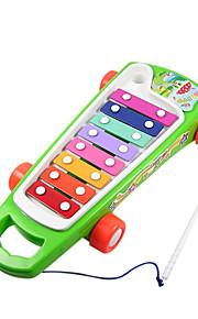 vermelho / verde da mão da criança / amarelo bater piano para crianças todos os instrumentos musicais de brinquedo entrega aleatória