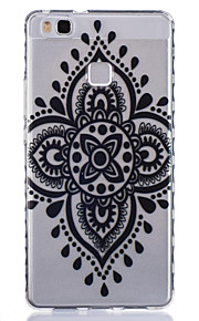 Chinese Knot Pattern PU Material Phone Case for Huawei P9 Lite/P9