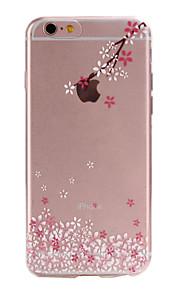 material de TPU sussurrando padrão slim case de telefone para 6s iphone plus / 6 plus / 6s / 6