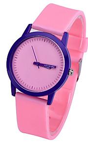 mulheres moda relógios wolors doces silicone mens relógio dos relógios de esportes relógio de quartzo relógios de criança montre femme