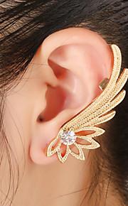 unisex mode guld / sølv vinger øre manchetter øreringe smykker (1 stk, 10 g)