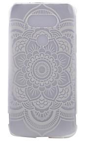 TPU materiaal half bloemen geschilderd patroon zachte telefoon geval voor asus zenfone lg g5