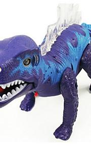 Legetøj LED-belysning Lyd Dinosaur Høj kvalitet Originalt legetøj Rød Plastik