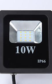 10W LED 투광 조명 850lm lm 차가운 화이트 SMD 2835 방수 AC 220-240 V 1개