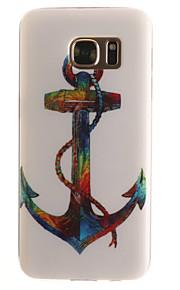 cor âncora padrão TPU + IMD caso de telefone material para Galaxy S3 / s3mini / S4 / s4mini / S5 / s5mini / S6 / S6 edge / S7 / S7 borda
