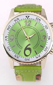 relógio do casal Genebra novo relógio pulseira cor de quartzo colorido (cores sortidas)