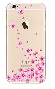 Kakashi litt frisk serie tpu maleri myk sak for iPhone 6s / 6/6-ere pluss / 6 pluss (lovly blomst)