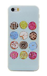 TPU material färg runt mönster mjuk telefon fallet för iphone5 / 5s / se