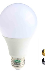 5W E26/E27 LED-globepærer A60(A19) 10 SMD 5730 480 lm lm Varm hvit / Kjølig hvit Dekorativ AC 85-265 V 1 stk.