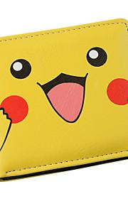 Pokemon-Portfele-Pikachu-PU Leather (skóra kompozytowa)-Žlutý