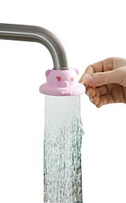 tappekran dusj vannkranen renser vannsprut på kjøkkenet kan justere flyten tilfeldig farge