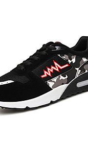 aile Running Shoes / Casual Shoes / Mountaineer Shoes Men's Anti-Slip / Damping / Wearproof / Breathable Leisure Sports Red / Black / Blue