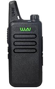 WLN KD-C1 Walkie Talkie UHF 400-470 MHz MINI-handheld transceiver two way Ham Radio communicator