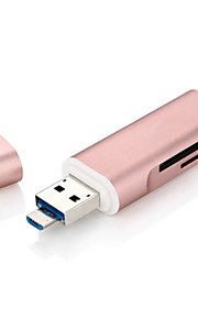 X-LEO MicroSD / MicroSDHC / MicroSDXC / TF Alles in einem / OTG USB 3.0