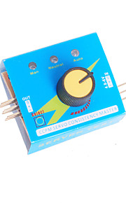 Multi Servo Tester 3CH ECS Consistency Speed Controler Power Channels CCPM Meter