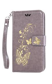 풀 바디 카드 홀더 / 지갑 / 충격방지 / 먼지방지 / 스탠드 / 튀기다 꽃장식 인조 가죽 하드 Flip  Dustproof   Shockproof   Wallet   Card Holder 케이스 커버를 들어 HTCHTC Desire 626 /