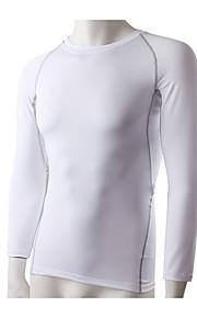 Hardlopen Sweatshirt / T-shirt Heren Lange Mouw Ademend / Sneldrogend / Stretch / Compressie / Zweetafvoerend Fitness / Hardlopen Sportief