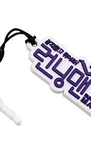 running man logo mark telefoon stof plug