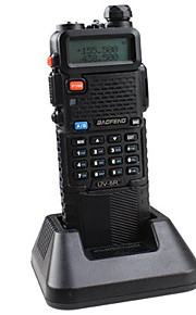 BAOFENG Dual Band UHF/VHF Radio Transceiver With Upgrade Version 3800mah Battery With Earpiece
