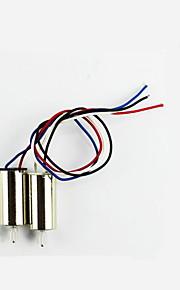 SYMA X5s / X5SW / X5SC SYMA Motorer El teknik / Dele Tilbehør RC quadrokopter Gyldent Metal